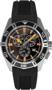 Mens Rubber Chronograph Watch Ags90088c04