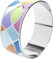 Ladies Multi-colour Enamel Bangle Ba01185-888
