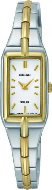 Ladies' Two Tone Solar Powered Watch Sup272p9