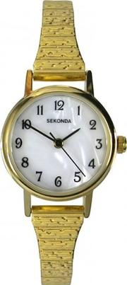 Ladies Gold Plated Expandable Watch 4677
