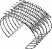 Silver Quill Cuff Bangle Qu010.ssnabos