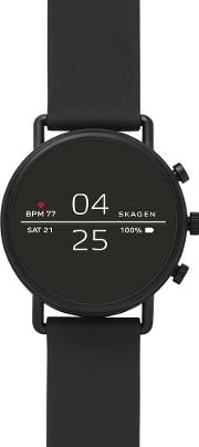 Connected Falster 2 Black Silicone Strap Smartwatch Skt5100