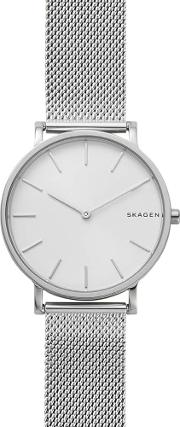 Hagen Slim Mesh Bracelet Watch Skw6442
