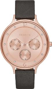 Ladies Anita Rose Gold Watch Skw2392