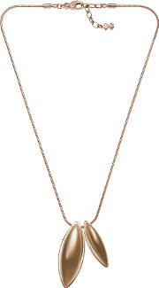 Ladies Rose Gold Plated Necklet Skj0486791