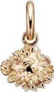 Gold Plated Clear Cubic Zirconia Blowfish 5208823