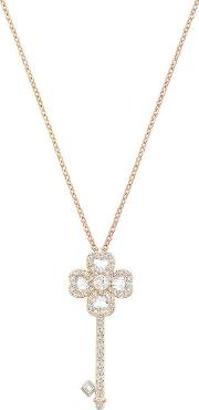 Deary Key Small Rose Gold Plated Necklace 5345157