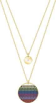 Ginger Gold Tone Multicoloured Layer Necklace 5397843