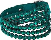 Power Green Crystal Multi Row Bracelet 5511700