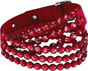 Power Red Crystal Multi Row Bracelet 5511701