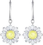 Sunshine Yellow Crystal Dropper Earrings 5479914
