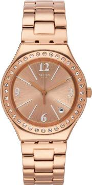Allurissime Rose Gold Plated Bracelet Watch Ygg409g