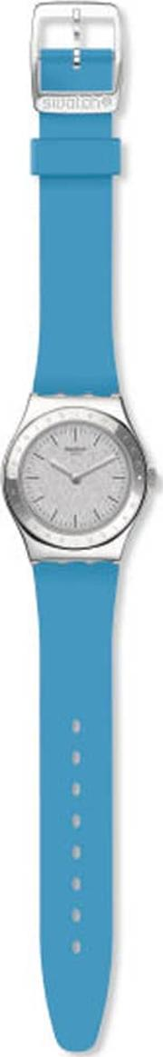 Brisebleue Blue Rubber Strap Watch Yls203