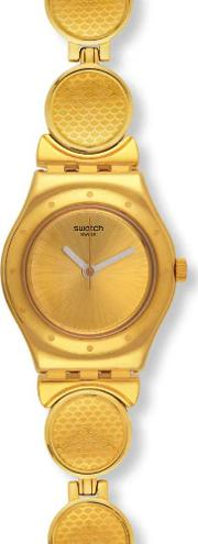 Ladies Givre Gold Plated Watch Ysg141g