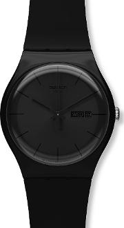Mens Black Rebel Watch Suob702