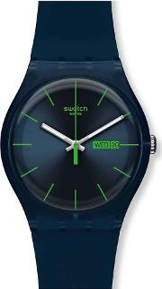 Mens Blue Rebel Watch Suon700