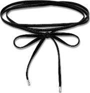 Black Velvet Tie Choker Necklace Ke1729 331 11
