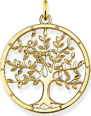 Gold Plated Tree Of Love Pendant Pe823 413 39