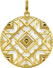 Ladies Glam And Soul Gold Plated Africa Ornaments Pendant Pe744 413 39