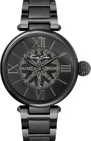 Ladies Karma Black Kathmandu Bracelet Watch Wa0307 202 203 38mm