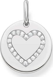 Ladies Love Bridge Silver Heart Pendant Lbpe0005 051 14