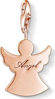 Rose Gold Plated Guardian Angel Charm1009-415-12