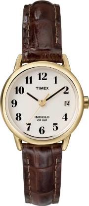 Ladies Indiglo Easy Reader Watch T20071