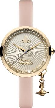 Ladies Bow Watch Vv139whpk