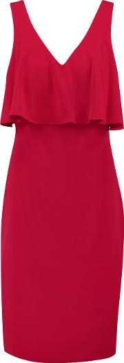 Layered Crepe Dress Us2