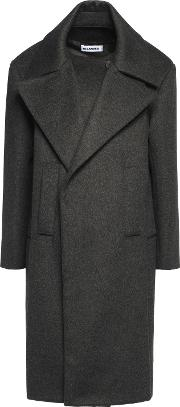 wool and cashmere blend coat