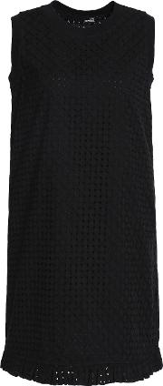 cotton broderie anglaise mini dress