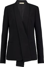 Wool Blazer Black