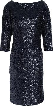 kimberly sequined mini dress
