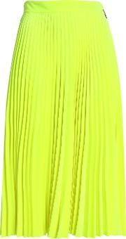 pleated flared style skirts
