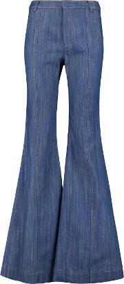 Flare High Rise Bootcut Jeans