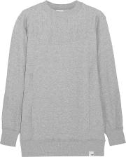 Woman Xbyo Cotton Jersey Sweatshirt Gray