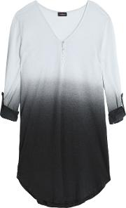 Degrade Cotton And Modal Blend Pajama Top