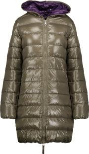 Woman Ace Quilted Shell Down Jacket Mushroom