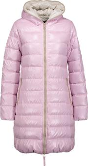 Woman Ace Quilted Shell Down Jacket Pastel Pink