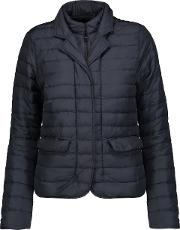 Woman Egina Quilted Shell Down Jacket Midnight Blue Size 44