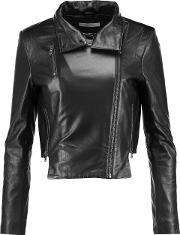 Woman Connix Leather Jacket Black Size S