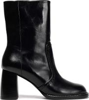 templer leather ankle boots