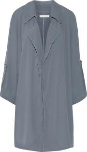Woman Ludlow Tie Dyed Crepe Jacket Anthracite