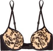 Autografo Embroidered Tulle Push Up Bra
