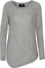 Woman Imperfect Cashmere Sweater Gray Size S