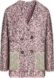 Double Breasted Boucle Blazer
