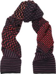 Wool And Cotton Blend Scarf