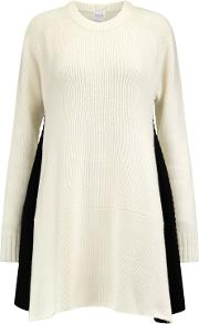 Woman Milo Wool And Cashmere Blend Dress Ivory