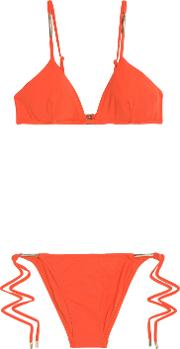 Woman Bikinis Orange Size 12