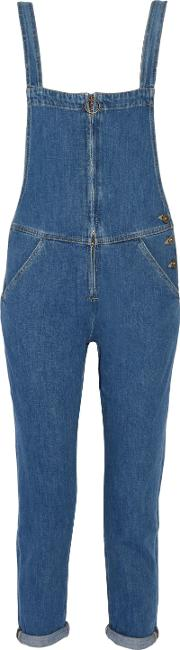 M.i.h Jeans Woman Phalle Denim Overalls Mid Denim